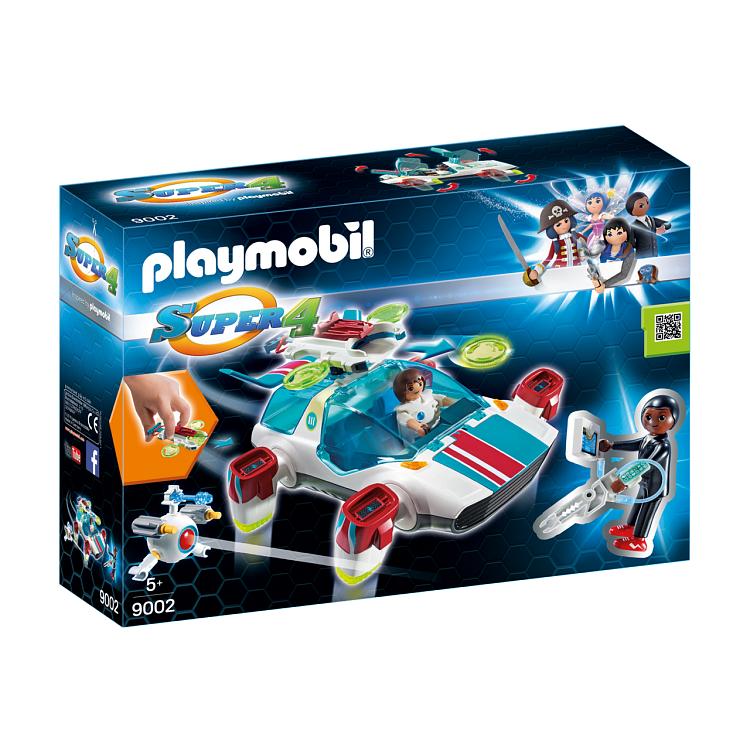 Playmobil, Super 4, Smok krainy rycerzy z Alexem, 9001