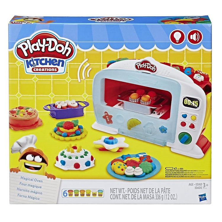 Play-Doh, Magiczny piekarnik, zestaw kreatywny