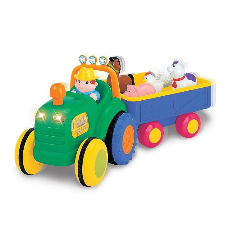 Dumel Discovery, Traktor z przyczepą, światło i dźwięk