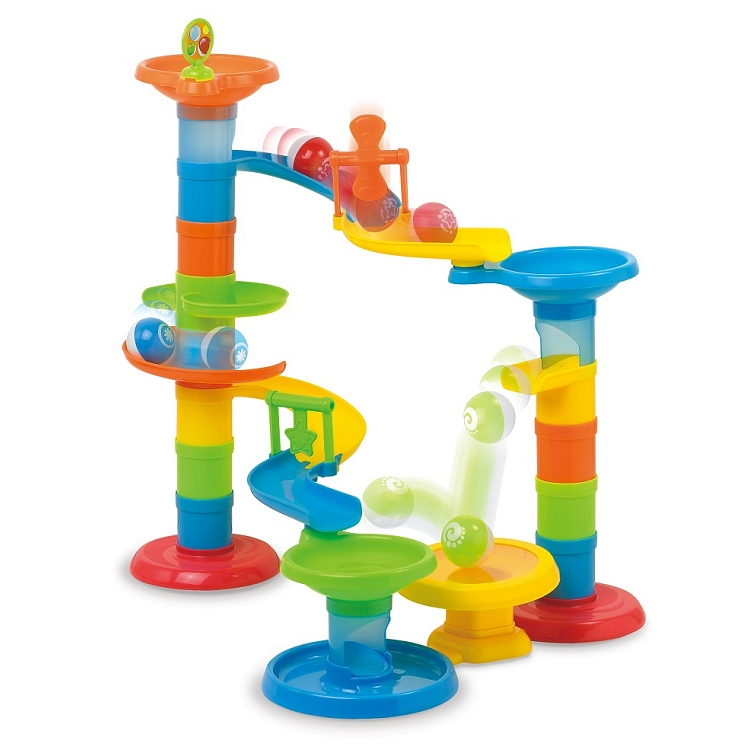 Dumel Discovery, Zjeżdżalnia, Piłeczkowy pościg, zabawka edukacyjna