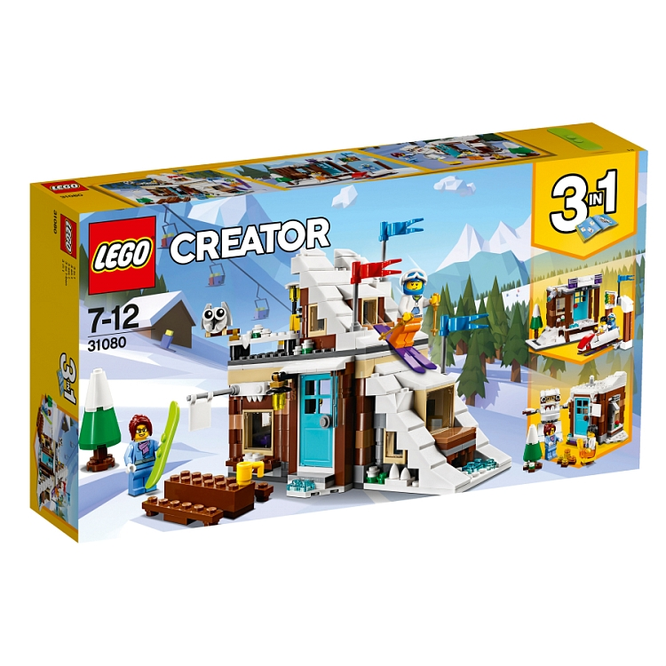 LEGO Creator, Ferie zimowe, 31080