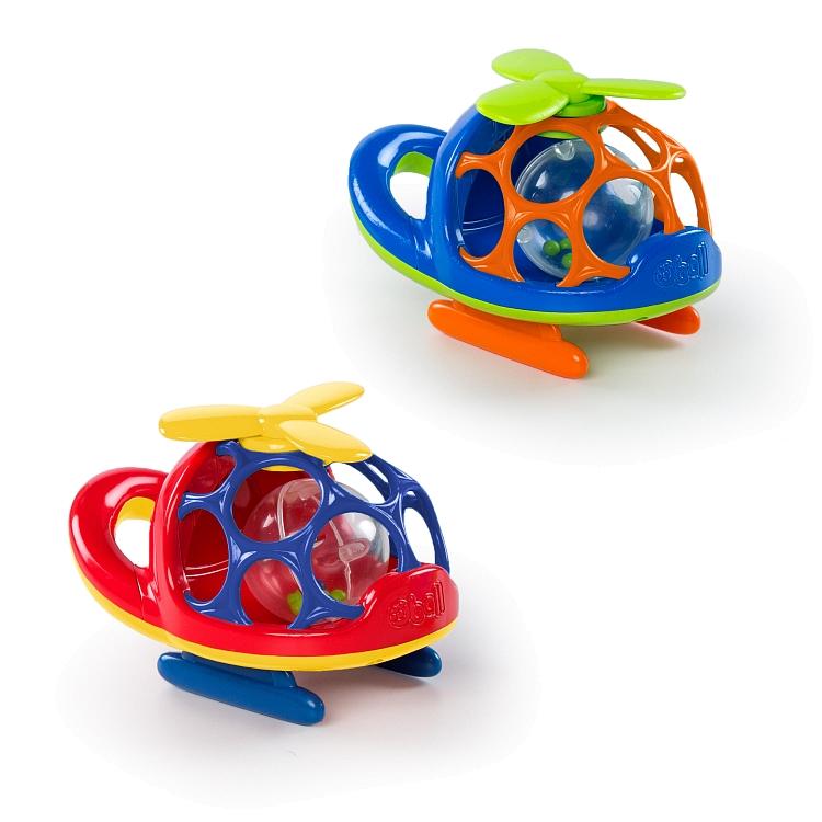 Oball, Helikopter, niebieski