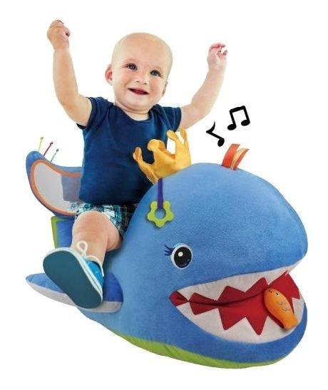 K's Kids, duży pluszowy Wieloryb, niebieski