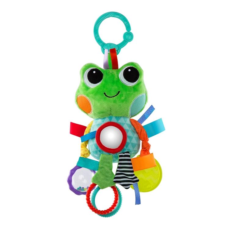 Bright Starts, Tęczowi Przyjaciele, zawieszka żaba