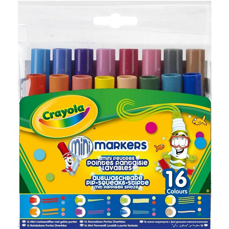 Crayola, markery pipsqueaks, 16 szt.