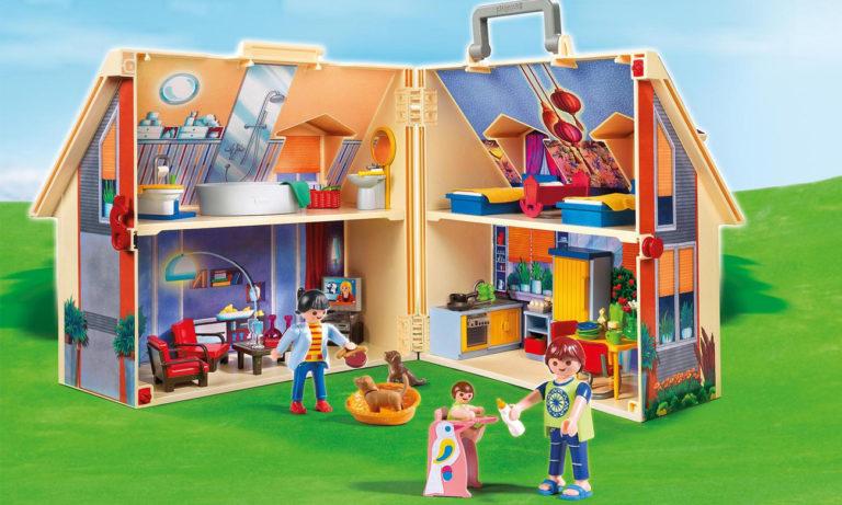 PLAYMOBIL przenośny domek dla lalek