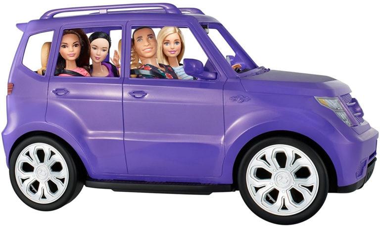 Barbie Fioletowy SUV