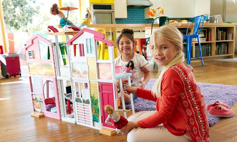 Barbie Miejski domek