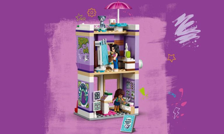 LEGO Friends Atelier Emmy
